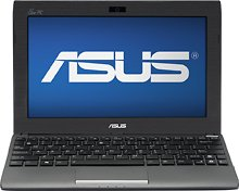 ASUS 1025C-BBK301 Eee PC Netbook Computer / 10-inch Display Screen / Intel Atom N2600 1.6 GHz Dual-core Processor / 1GB DDR3 RAM Memory / 320GB Hard Drive / 3-cell Battery / Webcam / HDMI / Windows 7 Starter / Black