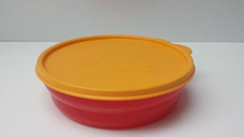 Tupperware Servierschale Wölckchen 700ml Junge Welle Schüssel mit Deckel rot orange