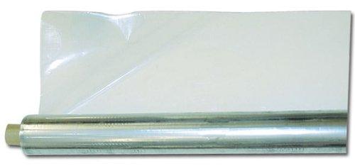 Foglia Cristallo in polietilene per mobili Spessore 1 mm H 130 cm Rotolo 50 mt