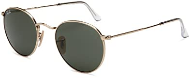Ray Ban RB3447 Round Metal Sunglasses, 50mm by Ray-Ban