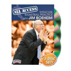 Buy Championship Productions Jim Boeheim: All Access Syracuse Basketball Practice DVD by Championship Productions