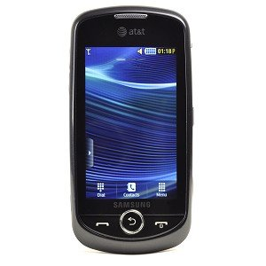Samsung Solstice II A817 Unlocked GSM Phone with Touchscreen + TouchWiz 2.0 UI, GPS, 2MP Camera, Video, Bluetooth, SNS Integration, MP3/MP4 Player and microSD Slot - Black (Solstice Ii Battery compare prices)