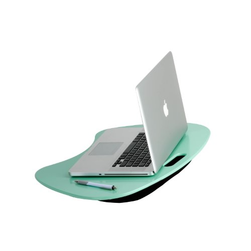 Honey-Can-Do Tbl-03540 Portable Lap Desk With Handle, 23 By 16 By 2.5-Inch, Mint