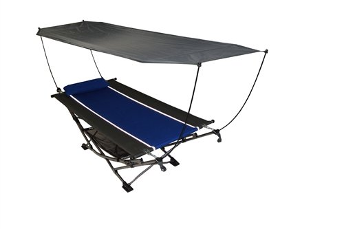 Large Portable Hammock with Canopy