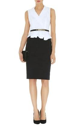 Geometric Broderie Dress