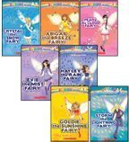 img - for The Weather Fairies Complete Set, Books 1-7: Crystal the Snow Fairy, Abigail the Breeze Fairy, Pearl the Cloud Fairy, Goldie the Sunshine Fairy, Evie the Mist Fairy, Storm the Lightning Fairy, and Hayley the Rain Fairy (Rainbow Magic) book / textbook / text book