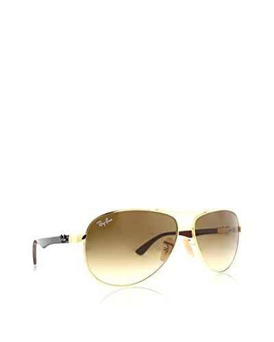 Ray-Ban Men's RB 8313 001/51 Sunglasses 58mm, Gold/Brown