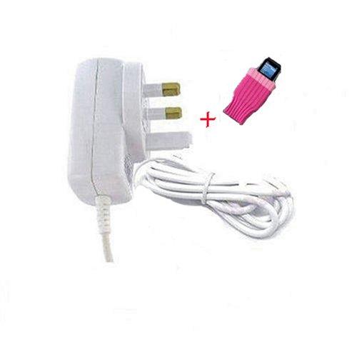 Sumnique Creative Labs Zen V Mains Charger For Zen V & Zen V Plus 1gb, 2gb & 4gb + Free Funky Pink Sock
