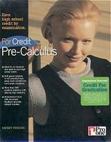 For Credit Pre-Calculus (PC CD Boxed)
