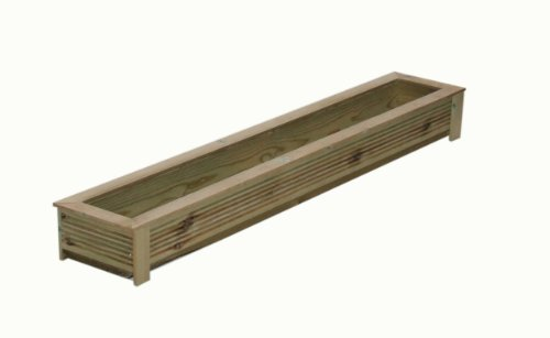Wooden Trough Planter, 1.5m SD150