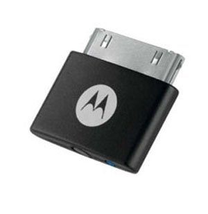 Motorola SYN2837A Bluetooth D670 (replaces D650) Stereo A2DP Music Streaming Adapter for iPod Classic, iPod Touch, iPhone 1st Gen and iPhone 3G