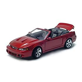 diecast car of 2003 FORD MUSTANG SVT COBRA DIECAST MODEL