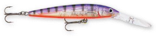 Today Rapala Down Deep Husky Jerk 12 Fishing lure, 4.75-Inch, Glass Purple Perch