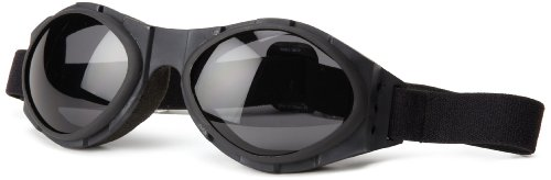 Bobster Bugeye Goggles,Black Frame/Smoked Lens,One Size