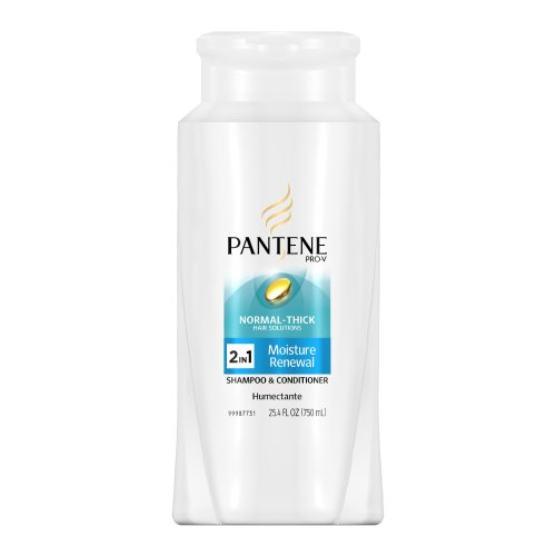 Pantene Pro-V Normal- Thick Moisture Renewal 2in1 Shampoo and Conditioner, 25.4-Fluid Ounce