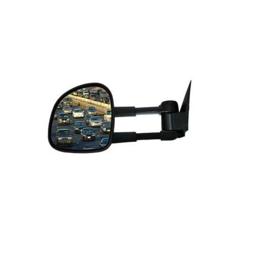 Cipa 70010 Extendable Replacement Electric Towing Mirror (Black) Fits Gmc/Chevy Full Size Pickups 1988-2000 - Right Hand Side