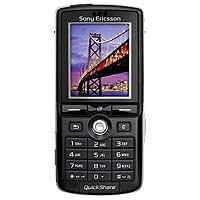 Sony Ericsson K750i Telefon mobil TriBand GSM 900/1800/1900 GPRS schwarz