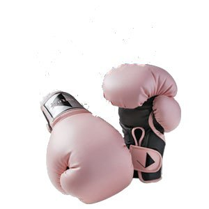 PINK CENTURY LADY WOMEN'S BOXING SPARRING GLOVES-CARDIO