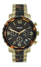 Fossil Natalie Stainless Steel - Two-Tone Women's watch #JR1382