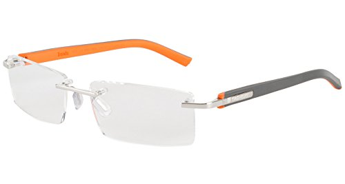 tag-heuer-mens-8110-006-trends-rimless-designer-eyeglasses-dark-grey-orange
