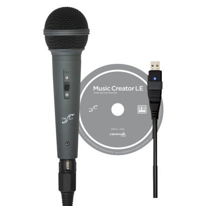First Act Usb Microphone With Cakewalk Music Creater 5 Le