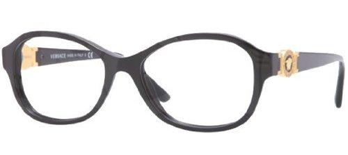 VersaceVersace VE3185 Eyeglasses-GB1 Black-52mm