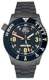 H3 TACTICAL Emergency Three-Hand Steel Men's watch #H3.802811.12