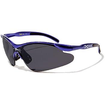 X-Loop Lunettes de Soleil - Sport - Cyclisme - Ski - Conduite - Motard / Mod. 3529 Violet / Taille Unique Adulte / Protection 100% UV400