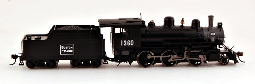 Bachmann Industries Alco 2-6-0 Dcc Sound Value Equipped Ho Scale #1360 Boston And Maine Locomotive front-126389