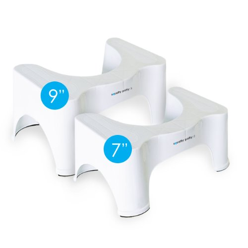 """Squatty Potty Ecco 7"""" & 9"""" 2 Pack - Natural Aid For Constipa"""