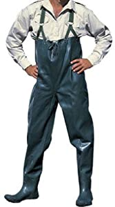 American Recreation Products 713119 Chest-High Wader, Rubber, Size 11 by american recreation