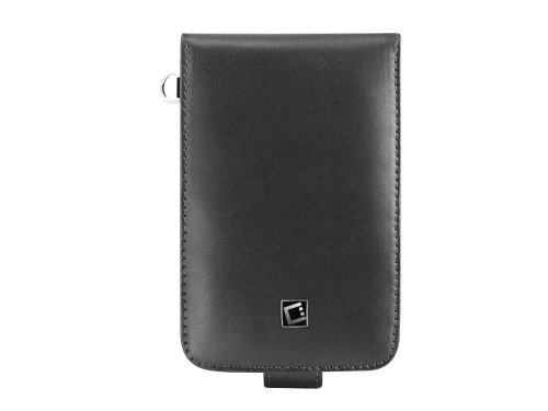Cellet Executive Case With Swivel & Spring Clips For Samsung Galaxy Note - Black