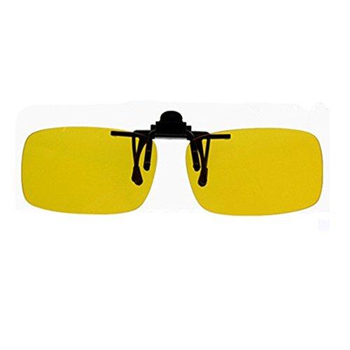 OFT Flip-up Myopie Nachtsichtbrille-Clip Nachtsichtbrille Sonnenbrillen Clip für Brillenträger