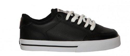 Circa Skateboard Shoes ALK50 Black/White Sneakers Shoes, shoe size:29-32