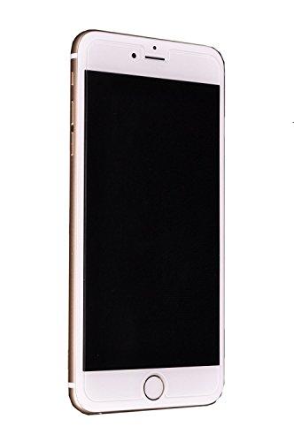 ノーブランド品 Apple iPhone6 Plus 5.5インチ 強化ガラス フィルム 超耐久 超薄型 高透過率液晶保護フィルム 表面硬度9H ラウンド処理 飛散防止処理(強化ガラスフィルム) ガラスコート フィルム