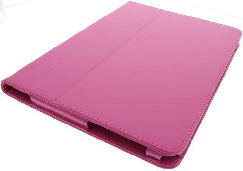 Neu! PU Leder Tasche / Hülle / Etui / Case für Samsung Galaxy Tab 2 - 10.1 P5100 - Rosa