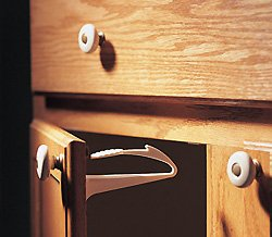KidCo Adhesive Mount Cabinet/Drawer Lock 1ea