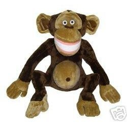 Soft Plush Toy Monkey Chimp Phil with Top Hat Doll: Toys & Games