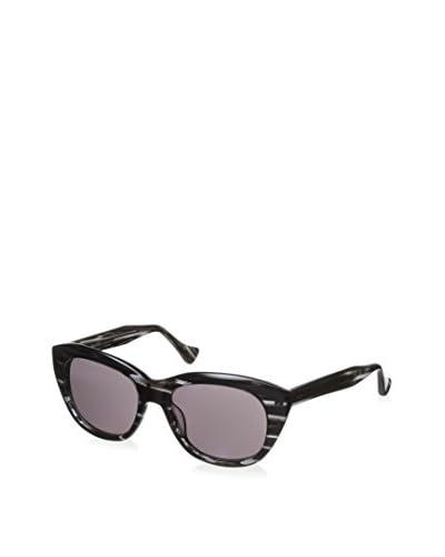 DITA Women's 22005A-53 Savoy Sunglasses, Black Swirl As You See