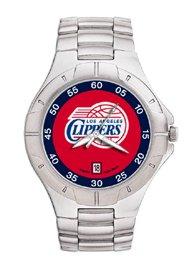 Los Angeles Clippers NBA PRO II Metal Sports Watch by Logo Art