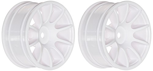 Ride 1/10 M-Chassis 47, 10 Spoke Wheels, White
