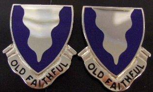 415th REGIMENT Distinctive Unit Insignia - Pair