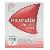 Nicorette Nicotine Patches - 7 Day Pack Step 3 - 5Mg 7