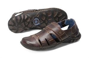 Born Men's Herschel Fisherman Sandals (12, Dark Brown)
