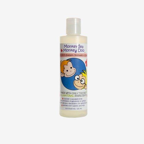 Monkey Sea Monkey Doo Natural Baby Shampoo, Body Wash, & Conditioner
