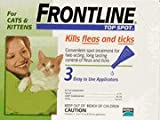 Merial Frontline Top Spot Flea and Tick Control for Cats and Kittens, 3 Doses