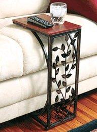 Leaf Design Side Sofa Table