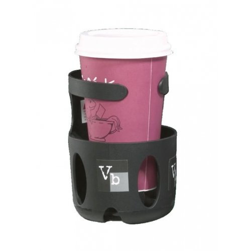 Valco Baby Universal Cup Holder, Black - 1