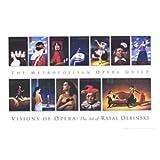 Visions of Opera, Art Print