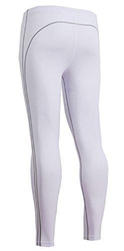 emFraa Men's Skin Tights Compression Leggings Running Base layer Pants